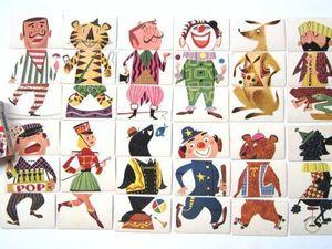Чудесные стилизованные персонажи игры «Mixies» 1956 года. Ярмарка Мастеров - ручная работа, handmade.