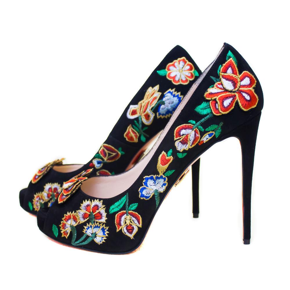 туфли с вышивкой, ручная работа, обувь женская, обувь на заказ, туфли на каблуке