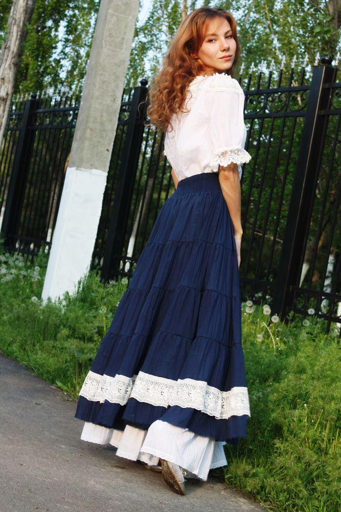 бохо блузка, авторское платье