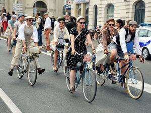 Ретро вело-пробег во Франции. Ярмарка Мастеров - ручная работа, handmade.