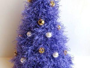 Новый 2018 год с фиолетовой ёлкой. Ярмарка Мастеров - ручная работа, handmade.