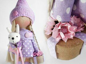Безукоризненный стиль, интересное сочетание фактур, милые детали в работах Татьяны Коннэ: 30 чудесных кукол. Ярмарка Мастеров - ручная работа, handmade.