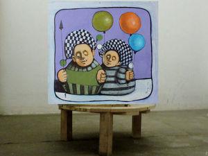 Лотерея № 4 в помощь художнику Гору (на его картину) + Копилочка. Нужна срочная операция! | Ярмарка Мастеров - ручная работа, handmade