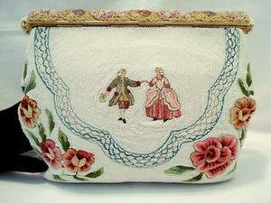 Очаровательные винтажные сумочки с вышивкой из Парижа. Ярмарка Мастеров - ручная работа, handmade.
