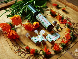 Календула — коллекция Травы Ведуньи. Ярмарка Мастеров - ручная работа, handmade.