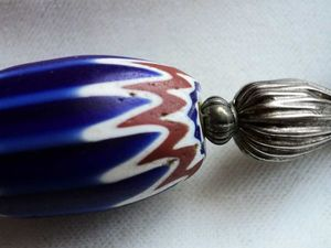 Удивительные венецианские бусины Шевроны. Ярмарка Мастеров - ручная работа, handmade.