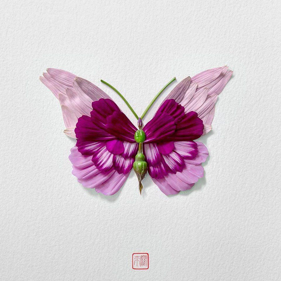 Petal Magic: Unusual Compositions by Raku Inoue, фото № 19