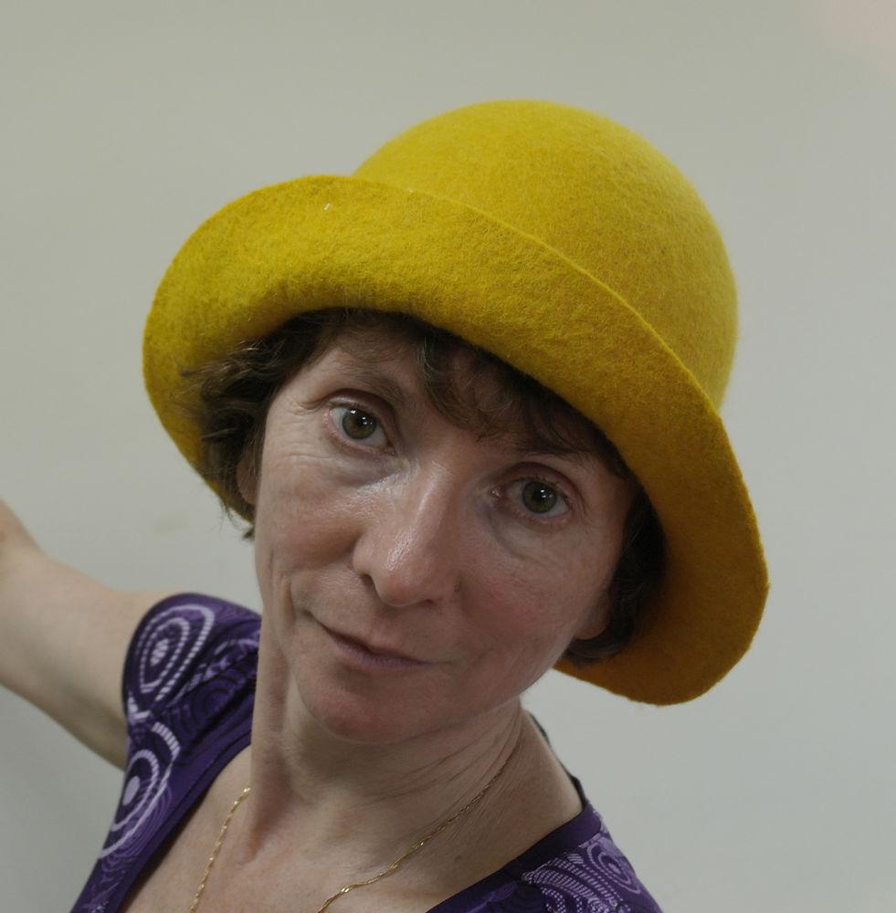 валяная шляпа, шерсти клок