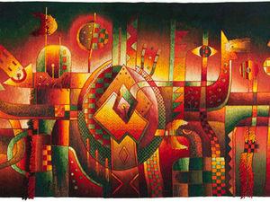 Невероятная игра красок и образов на гобеленах Maximo Laura | Ярмарка Мастеров - ручная работа, handmade