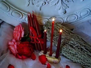 А вы знаете, как с помощью свечей заглянуть в свое будущее?. Ярмарка Мастеров - ручная работа, handmade.