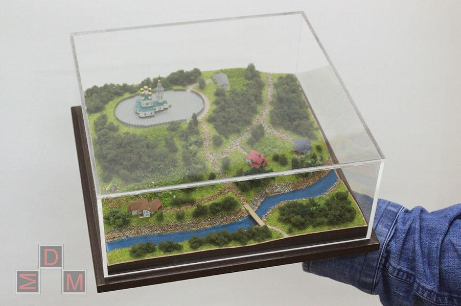 макет дома, миниатюра
