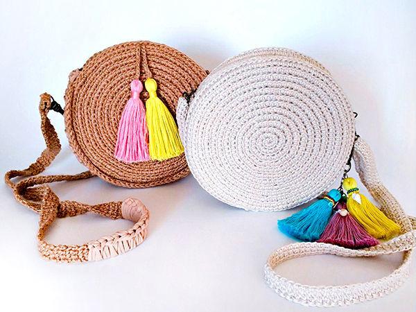 How to Make a Trendy Round Bag | Livemaster - handmade
