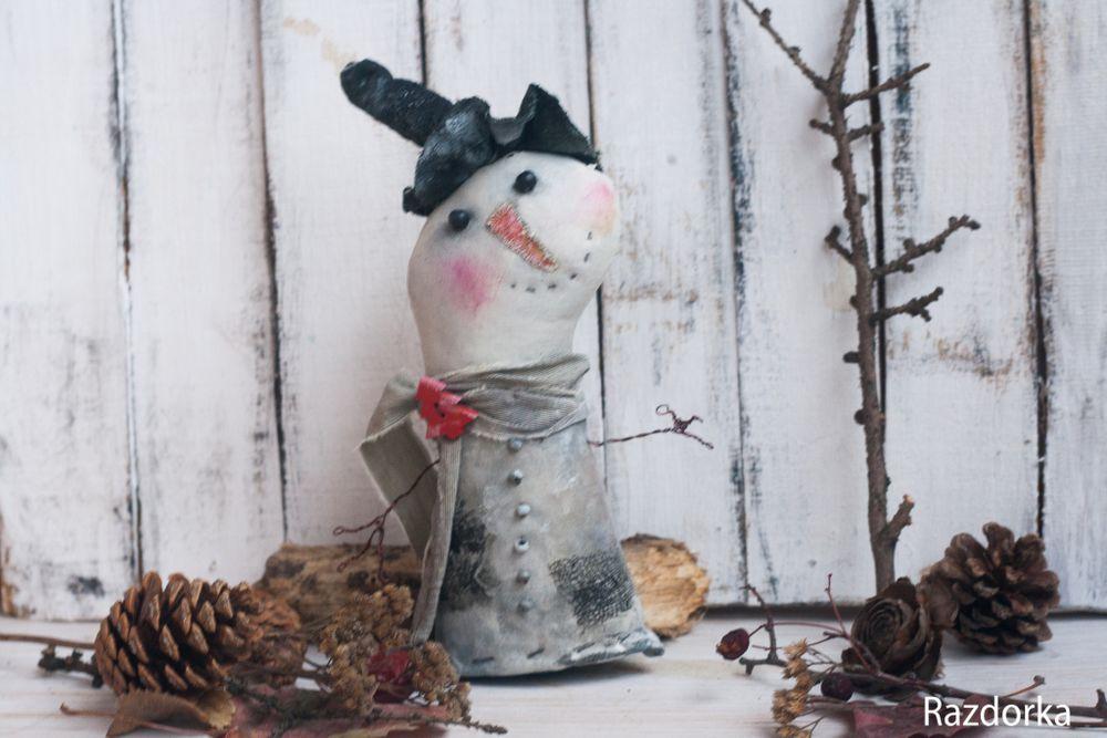 снеговик, новый год 2017