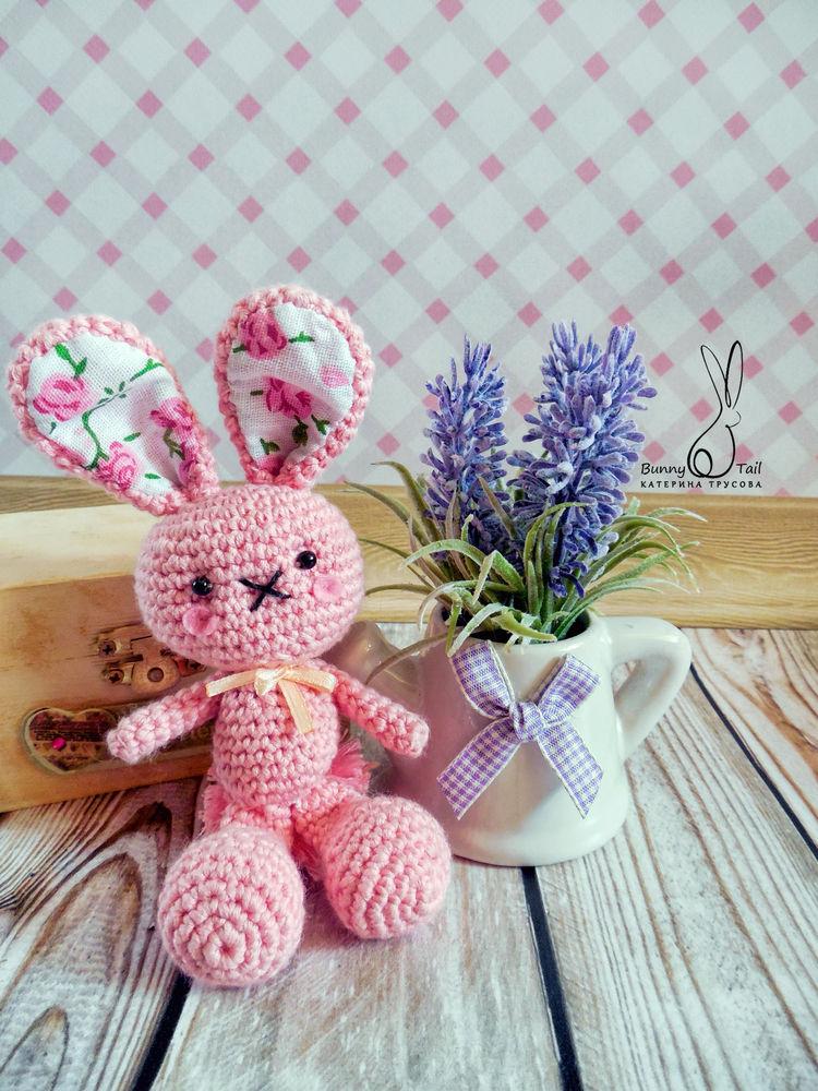 кролик вязаный, сказка