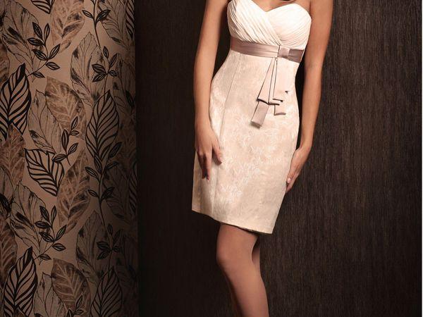 Свадебное Платье 2055 короткое | Ярмарка Мастеров - ручная работа, handmade