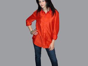 Распродажа женских шёлковых рубашек   Ярмарка Мастеров - ручная работа, handmade
