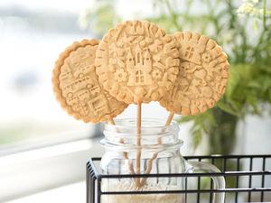 Печенье с начинкой на палочках. Ярмарка Мастеров - ручная работа, handmade.