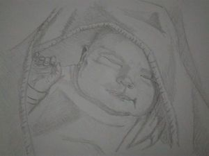 Спящий младенец | Ярмарка Мастеров - ручная работа, handmade