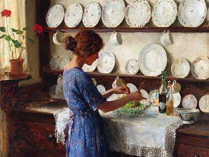Тарелочки в живописи: 55 прекрасных полотен. Ярмарка Мастеров - ручная работа, handmade.