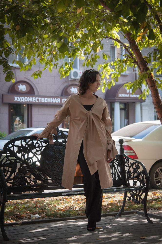 платье-пальто, дизайнерская одежда