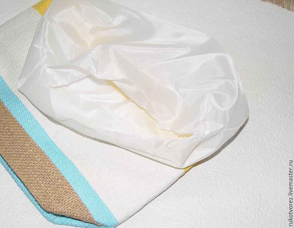 Переделываем летнюю косметичку в яркую сумочку, фото № 5