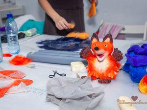 """Как мы валяли ворон и лисичек 6 октября в """"Шкатулочке"""". Ярмарка Мастеров - ручная работа, handmade."""