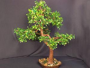 Искусственное дерево своими руками: видео мастер-класс. Ярмарка Мастеров - ручная работа, handmade.