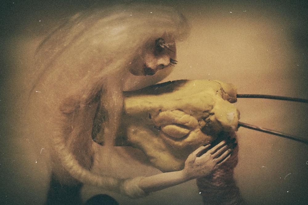куклы, глина