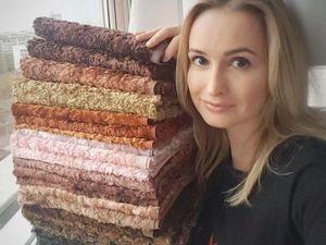 Новая коллекция винтажного плюша. Ярмарка Мастеров - ручная работа, handmade.