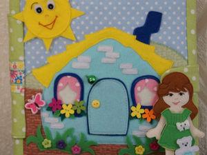 Кукольный домик | Ярмарка Мастеров - ручная работа, handmade