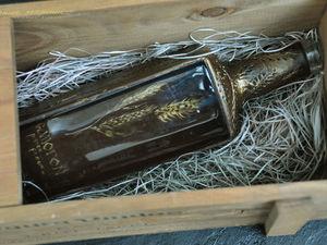 Новая бутылка с прозрачным окошком. Ярмарка Мастеров - ручная работа, handmade.