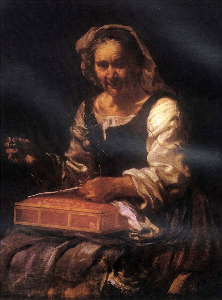 Когда есть чем заняться — стареть некогда: душевные картины о бабушках-рукодельницах, фото № 28