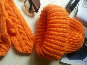 Низкие цены на мохеровые шапки и комплекты. Ярмарка Мастеров - ручная работа, handmade.
