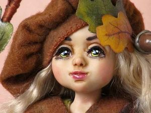 Новая Осенняя Фея Дубравушка!!!. Ярмарка Мастеров - ручная работа, handmade.