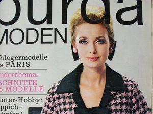 Burda moden 1/1965 Бурда Моден. Ярмарка Мастеров - ручная работа, handmade.