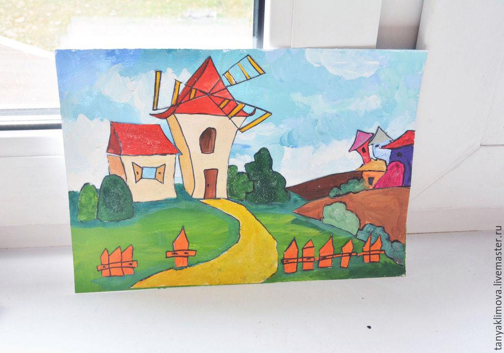 Развиваем детей с помощью аппликации «сказочный город», фото № 26