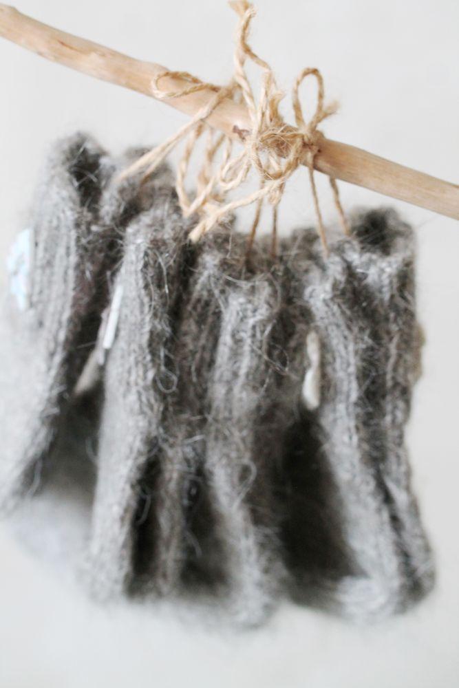 носки вязаные, бесплатная доставка, аутентичные вещи, оренбургский козий пух