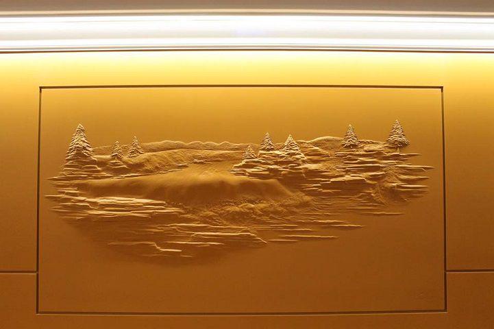 Bernie Mitchell: превращение скучных стен в произведение искусства, фото № 12