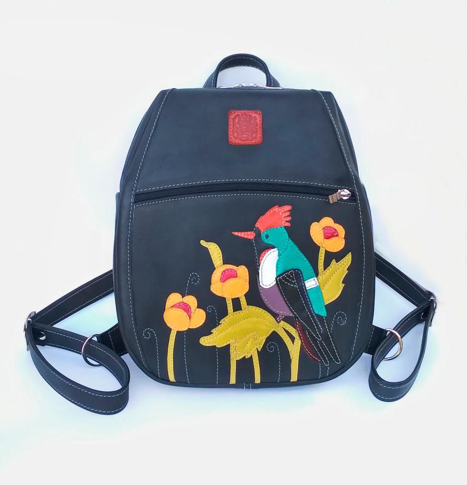 женский рюкзак кожаный, городские рюкзаки, готовые работы
