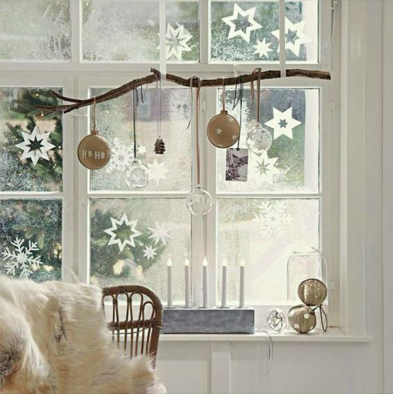 How to Decorate Windows for New Year: 20 Great Ideas, фото № 8