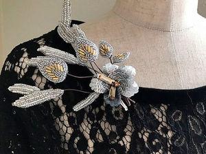 Волшебные букеты цветов люневильским крючком от мастера May Lilyq. Ярмарка Мастеров - ручная работа, handmade.