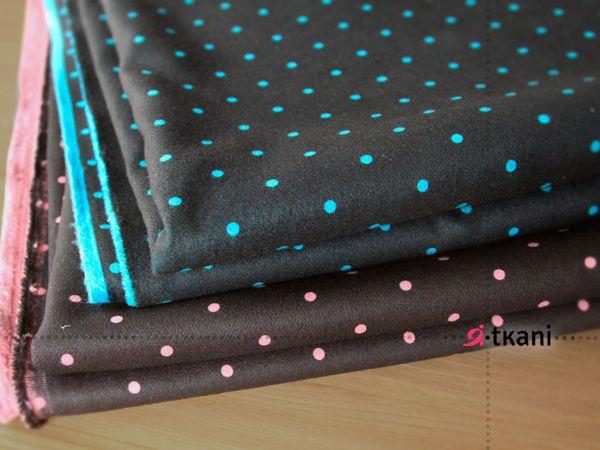 Модный горошек теперь и в ПАЛЬТОВЫХ тканях | Ярмарка Мастеров - ручная работа, handmade