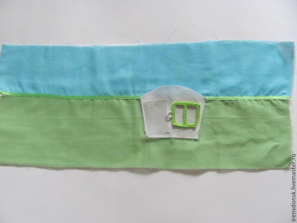 В подарок малышу: делаем развивающий коврик-трансформер. Часть 1, фото № 1