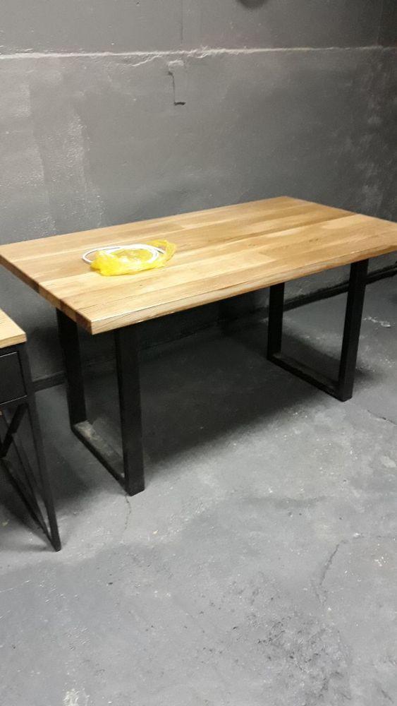 стол лофт, мебель лофт, столы в стиле лофт, стол из ясеня, удобный стол