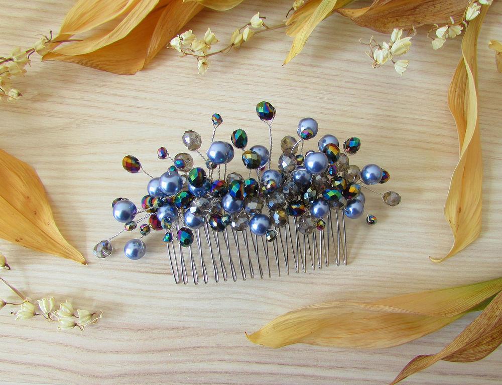 Мастерим гребень для волос на весну/лето, фото № 2