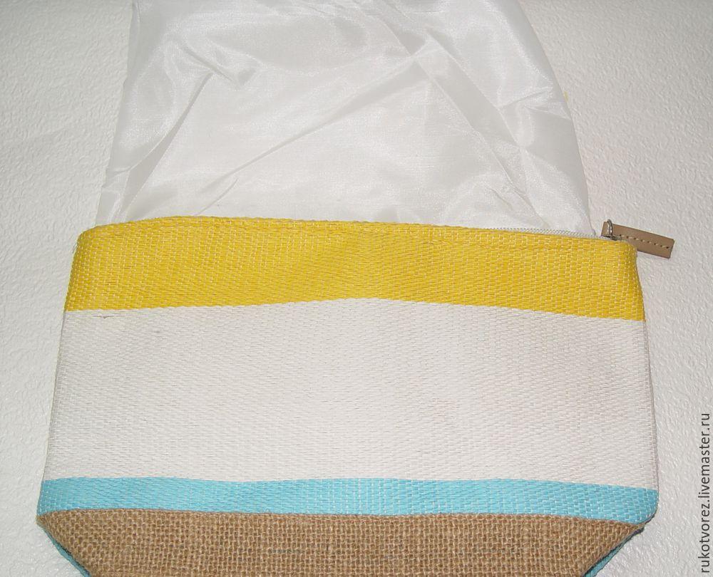 Переделываем летнюю косметичку в яркую сумочку, фото № 2