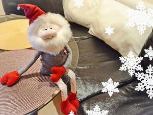 Видео мастер-класс: шьем новогоднего гнома. Ярмарка Мастеров - ручная работа, handmade.