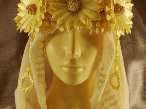 Венки и очелья из соломки. Авторская бижутерия. Ярмарка Мастеров - ручная работа, handmade.