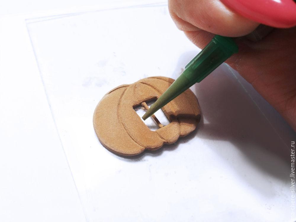 Make Fall Pumpkin From Plastic Bronze, фото № 19