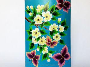 Большие вазы с авторской росписью | Ярмарка Мастеров - ручная работа, handmade